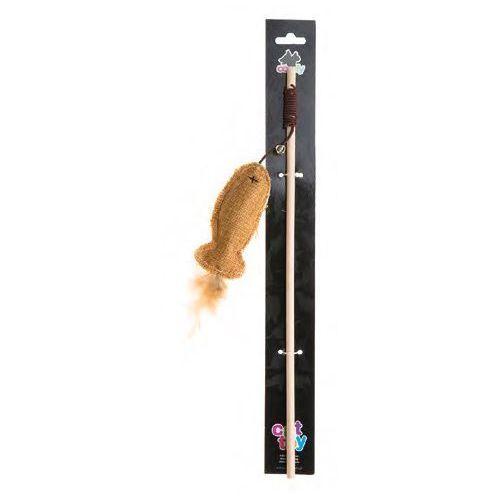 Comfy gaia wędka dla kotów ryba 40cm