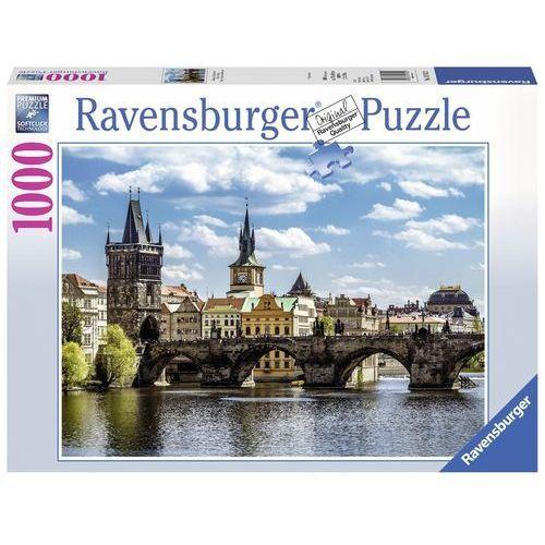Puzzle 1000 Widok na Most Karola