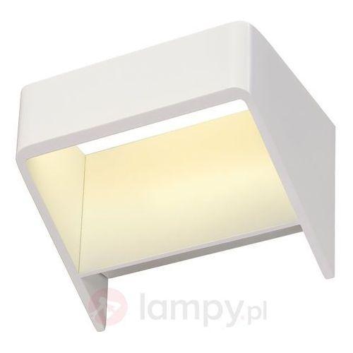 DACU SPACE lampa naścienna, biała z ciepłym białym LED, Dacu Sapce