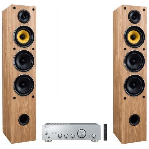 Zestaw stereo PIONEER A40AES + TAGA TAV-506F Dąb (2900974861745)
