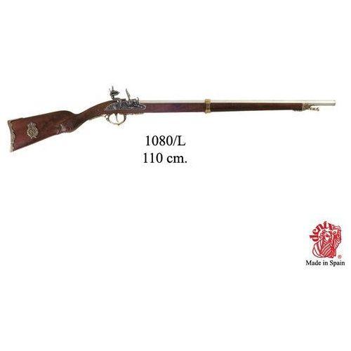 Złota napoleońska zdobiona strzelba - muszkiet z 1807 r (1080/l) marki Denix