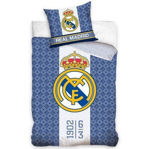 Pościel bawełniana Real Madrid 1902, 140 x 200 cm, 70 x 80 cm, 224315