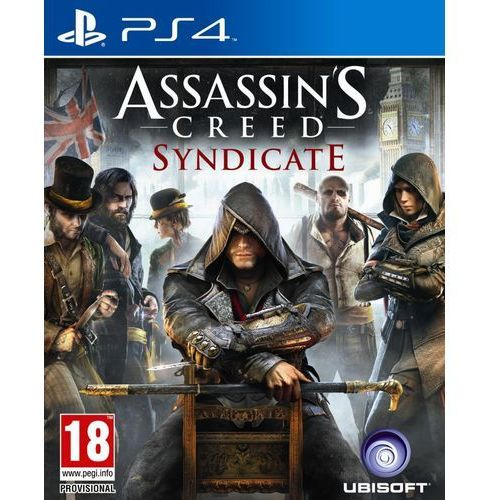 Ubisoft Assassin's creed syndicate pl ps4