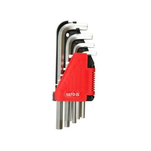 Klucze imbusowe hex 2-12 mm, 10 cz. Yato YT-0508 - ZYSKAJ RABAT 30 ZŁ (5906083905087)