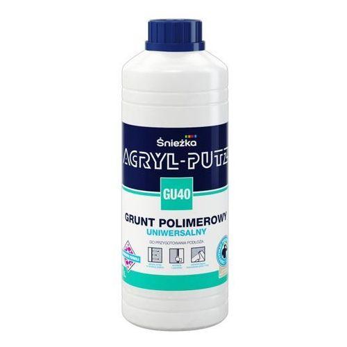 Śnieżka Acryl putz gu40 grunt polimerowy uniwersalny 1l