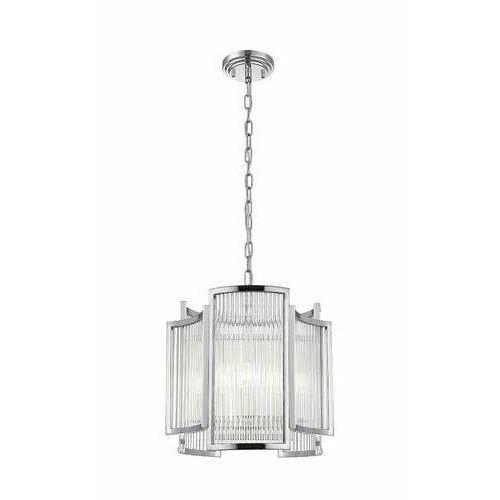 Zuma line sergio p0528-03a-f4ac lampa wisząca zwis 1x60w e14 chrom (2011007192092)