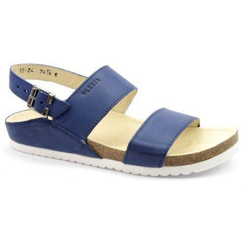 Sandały 1224 niebieski, Lesta, 37-40