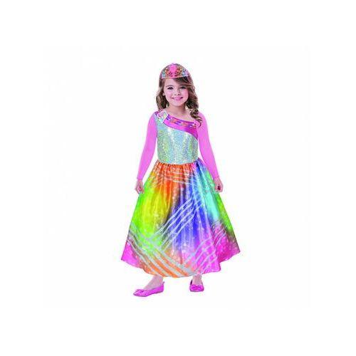 Kostium Tęczowa Barbie dla dziewczynki - 3/5 lat (0013051753443)