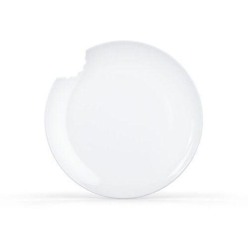 58products - talerz Ø 20 cm - biały błyszczący - 2 szt - 20,00 cm