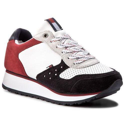 9679b6c61efda Sneakersy TOMMY HILFIGER - DENIM Sm Dangel 3C1 FW0FW02613 Rwb 020 ...