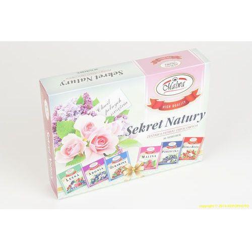 Sekret natury zestaw malwa herbata na prezent owocowa podarunek marki Malwa tea