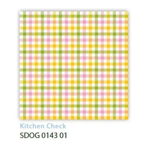 Serwetki 33 x 33 cm SDOG 014301 Kolorowa kratka