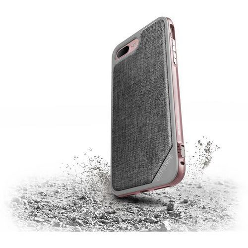 X-doria  defense lux - aluminiowe etui iphone 7 plus (rose gold/grey)