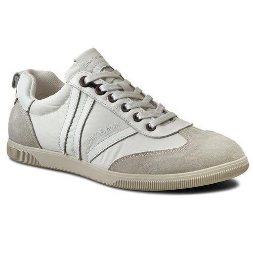 Sneakersy CALVIN KLEIN JEANS - Umi S1639 White, kolor biały
