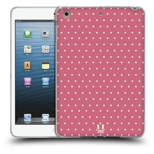 Etui silikonowe na tablet - French Country Patterns PINK DOTS, kolor różowy