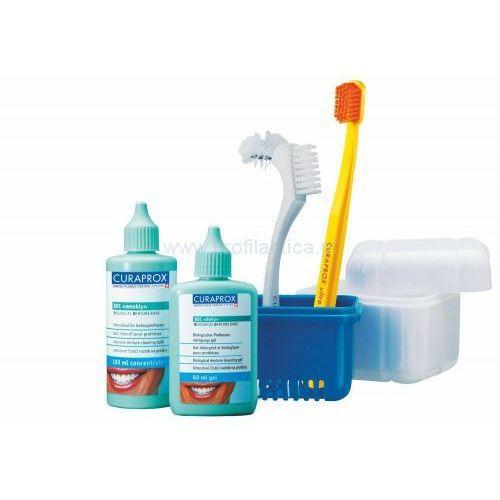 Curaprox BDC 190 SET - Zestaw do higieny protez, 0000001037