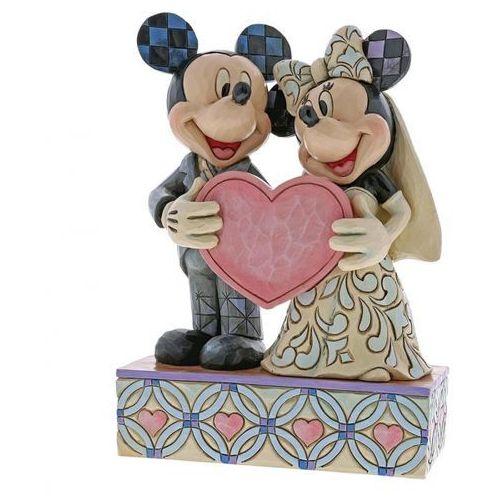 Dwie Dusze Jedno Serce Two Souls, One Heart Myszki (Mickey Mouse & Minnie Mouse Figurine) 4059748 Jim Shore figurka ozdoba ŚLUBNA