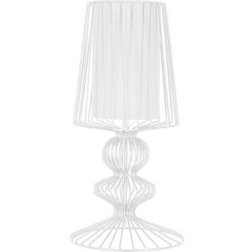 Lampa stołowa aveiro 5410 s i druciana 1x40w e27 biała marki Nowodvorski