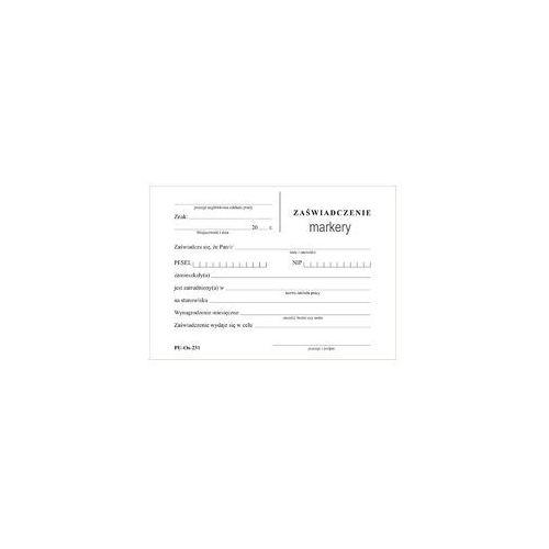 Emeko Druk zaświadczenie o zatrudnieniu i zarob a6 (5908309978035)