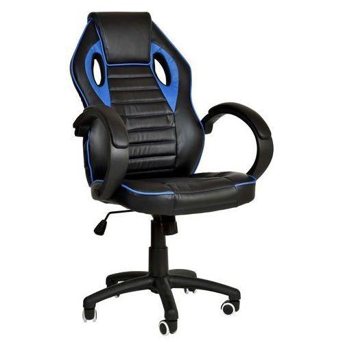 Fotel dla gracza gamingowy racer 1st niebieski marki Ehokery.pl