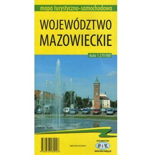 Województwo mazowieckie 1:270 000 (2 str.)
