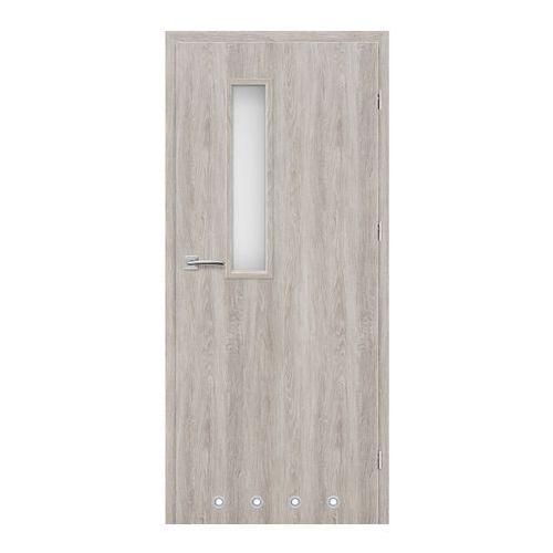 Drzwi z tulejami Exmoor 80 prawe jesion szary, SDZ002439