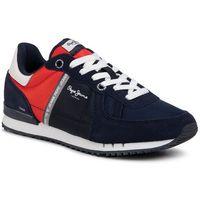 Sneakersy PEPE JEANS - Tinker Zero PMS30612 Navy 595, w 4 rozmiarach