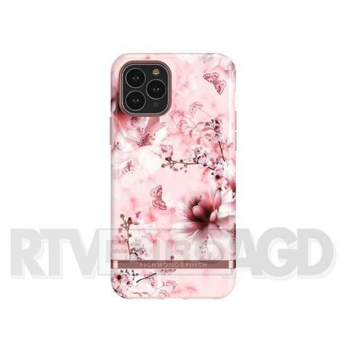 Richmond & Finch Pink Marble Floral - Rose Gold iPhone 11 Pro (7350111350642)