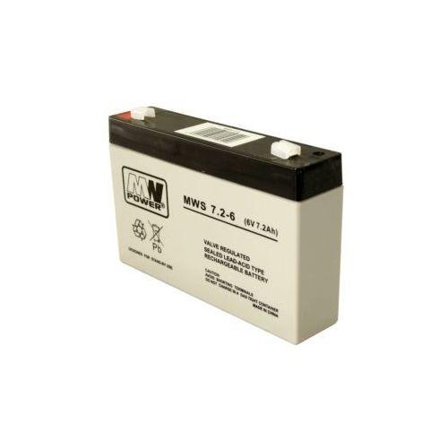 Akumulator AGM MWP MWS 7,2-6 (6V 7,2Ah) (5902135119549)