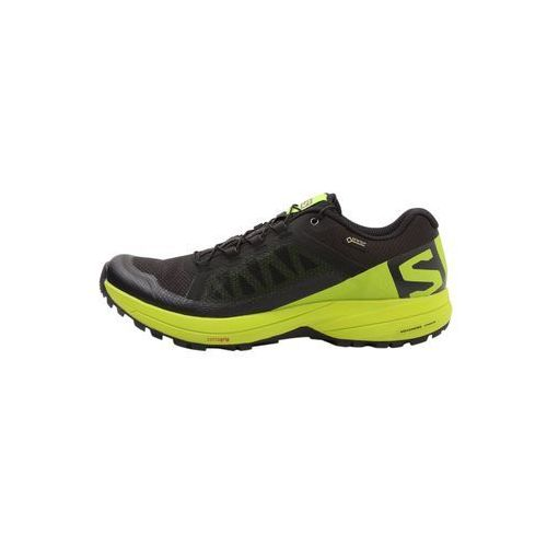Salomon XA ELEVATE GTX Obuwie do biegania Szlak black/lime green, C7555