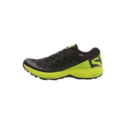 xa elevate gtx obuwie do biegania szlak black/lime green marki Salomon
