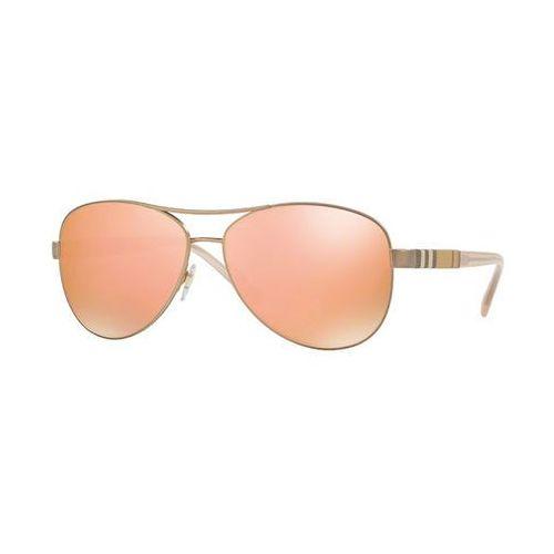 Okulary Słoneczne Burberry BE3080 12357J