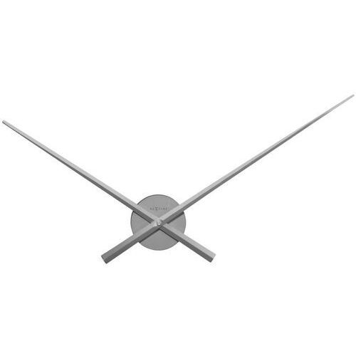 Nextime Zegar ścienny hands 70 cm, szary (3118 zi)