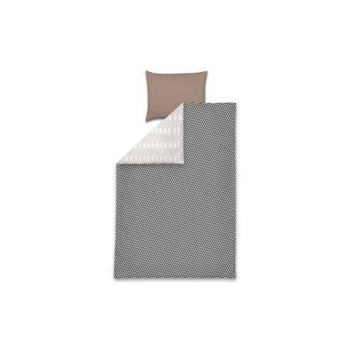 Woood pościel grazie 200x220 cm szara - woood 390735-3