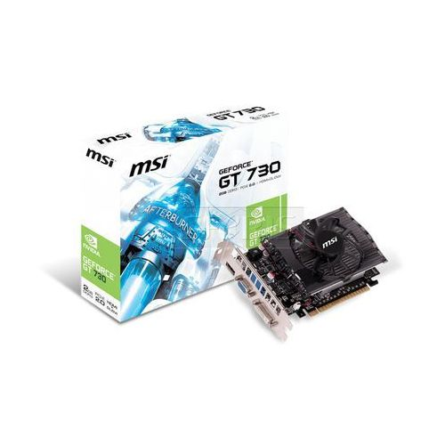 Karta graficzna MSI GeForce GT 730 2048MB DDR3/128b D/H PCI-E v1 - N730-2GD3V1 z kategorii Karty graficzne