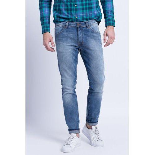 - jeansy larston slim tapered marki Wrangler
