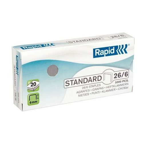 Rapid Zszywki standard 26/6 5m (7313468618001)