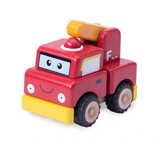 Wonderworld Zbuduj straż pożarną - drewniany pojazd do składania