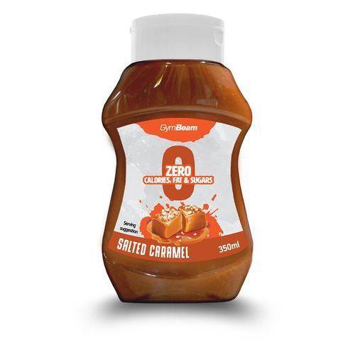 GymBeam Syrop bez kalorii o smaku słonego karmelu 350 ml (8588007275598)