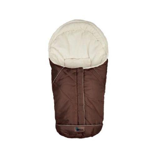 Alta bebe Altabebe śpiworek zimowy nordic do fotelika samochodowego, rozmiar 0+ kolor brąz-whitewash (4897015974428)