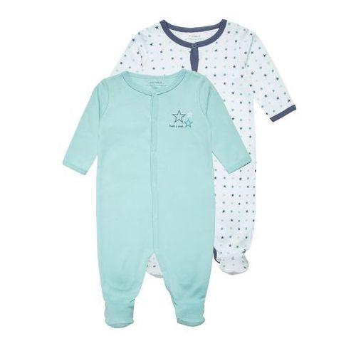 Name it NITNIGHTSUIT 2 PACK Śpioszki ballad blue - produkt z kategorii- Body niemowlęce