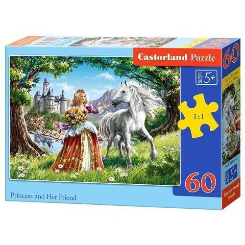Puzzle 60 Księżniczka i jej przyjaciel CASTOR, AM_5904438006830