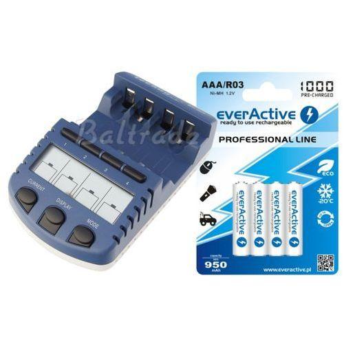 Technoline / everactive Bc-1000 (następca bc-900) + 4 x r03/aaa everactive 1000