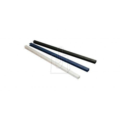 Listwy (grzbiety) zatrzaskowe Greenbindery 20mm 50 szt. czarne - OKAZJE