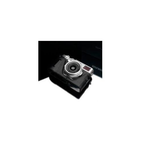 Halfcase z naturalnej skóry w kolorze czarnym dedykowany do Fuji Film X100F, HG-X100FBK