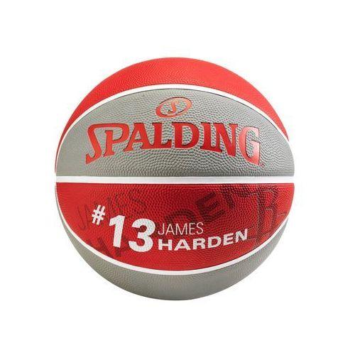 Spalding NBA PLAYER Piłka do koszykówki grey/red