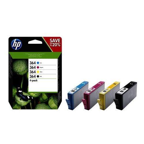 HP oryginalny ink N9J73AE, No.364 Combo pack, CMYK, HP Combo-pack,B8550,C5380,D5460, IHPN9J73AENG (6283903)
