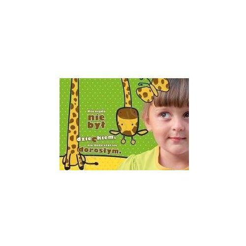 Kartka uśmiech dziecka - dorosłość