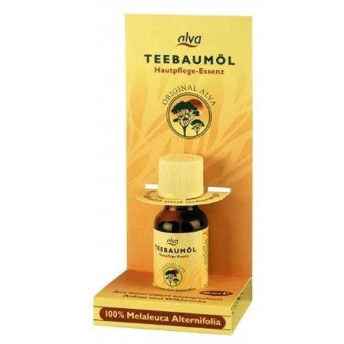 Olejek z drzewa herbacianego z kroplomierzem 20ml marki Alva