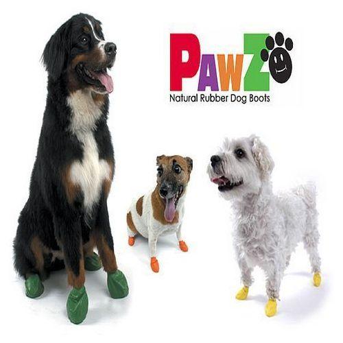 buty dla psa z naturalnej gumy rozm. l 1szt. marki Pawz